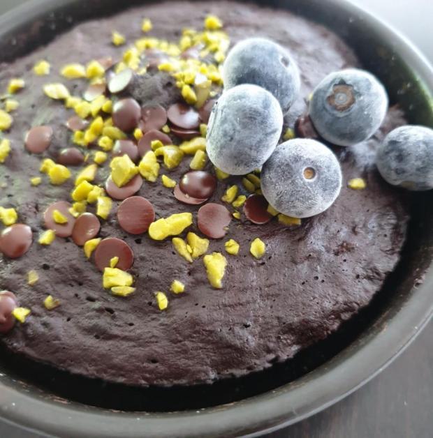 Trojminútový bezlepkový koláč bez cukru - recept