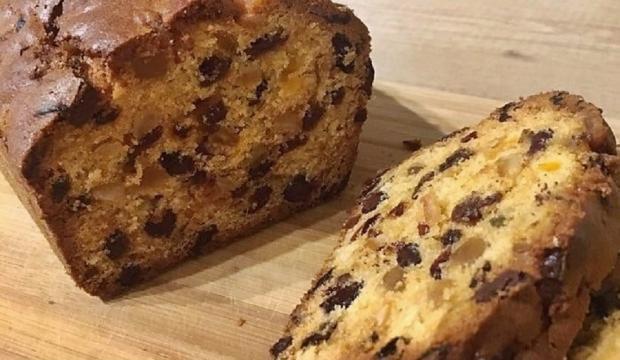 Biskupský chlebík so sušeným ovocím - recept