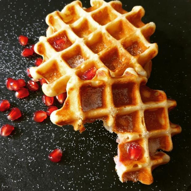 Proteínové wafle - recept