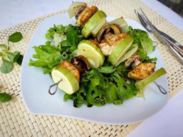 Kuracie ražniči s cuketou - recept