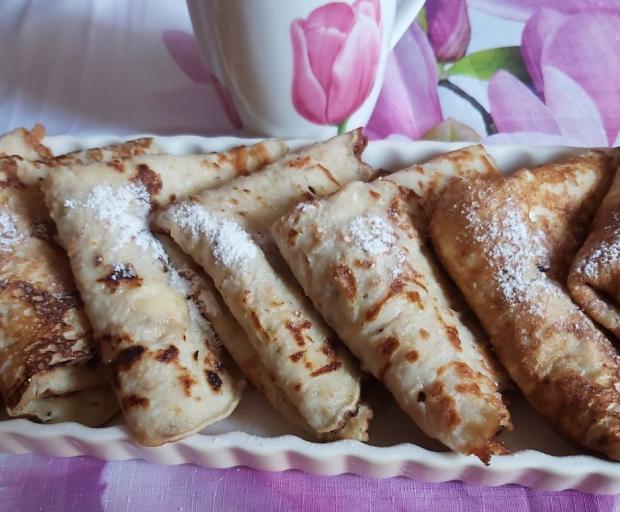 Palacinky z jablkového cesta - recept