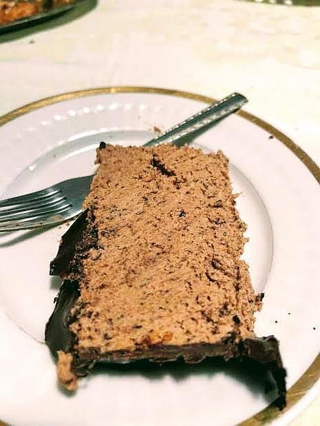Nepečená torta s lieskovcami - recept
