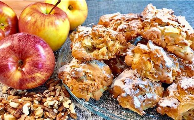 Jablkové buchtičky