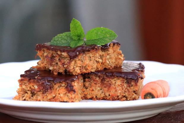 Zdravý mrkvový koláčik - recept