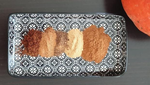Korenie pre koláče z tekvice - recept