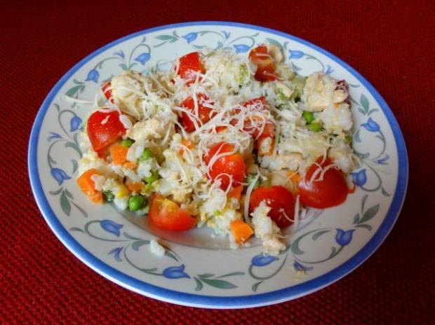 Ryža s kuracím mäsom a brokolicou - recept