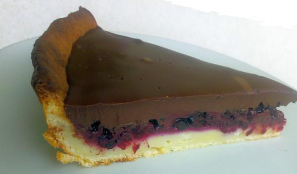 46801075f3ad2 Černicový koláč s čokoládovým krémom, Koláče, recept | Naničmama.sk
