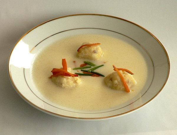 Rybacia krémová polievka - recept