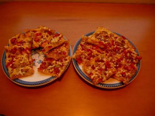 Rychlá pizza, bez kysnutia - recept