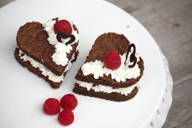 Mini tortičky srdiečka - recept