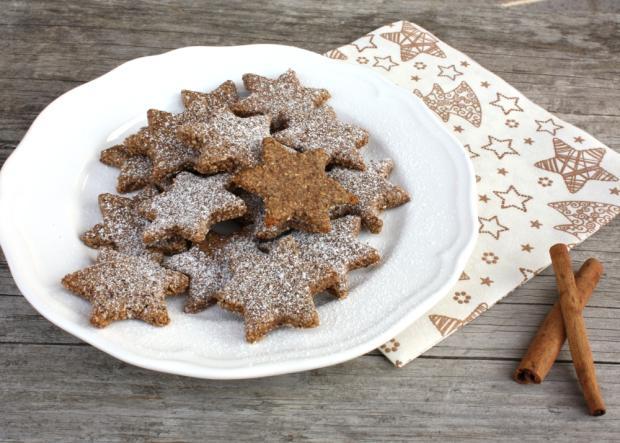 Škoricovo mandľové hviezdičky bez múky, Autor: Kamila
