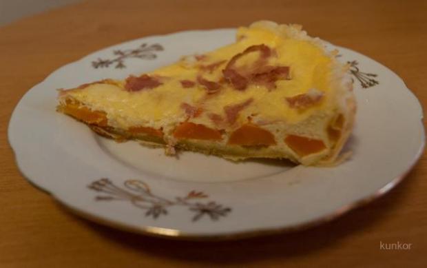 Slaný koláč s mrkvou - recept