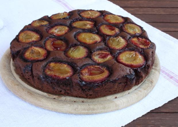 Slivkový koláč opäť inak - recept