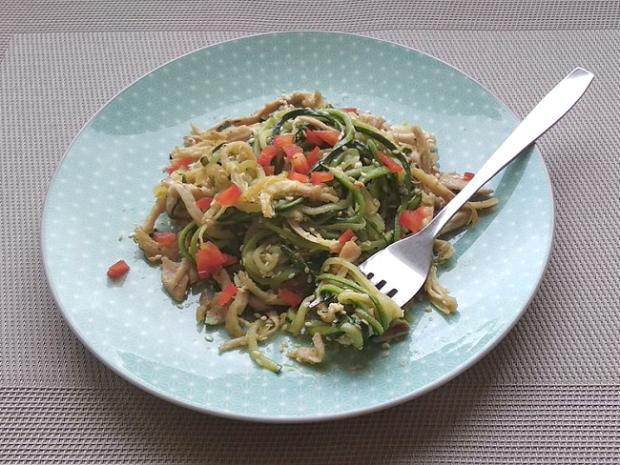 Cuketové špagety s kuracím mäsom | Recept | Dasa_