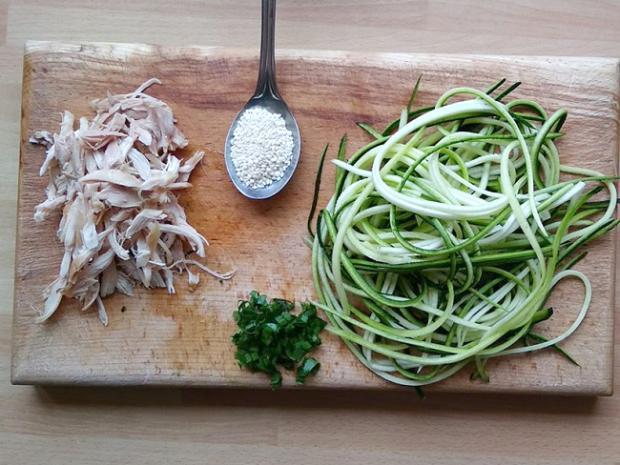 Špenátové špagety so šunkou a paradajkami | Recept