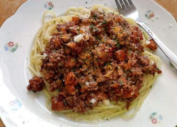 Špagety bolognese - recept