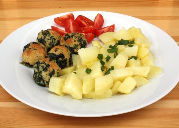 Špenátové guličky - recept