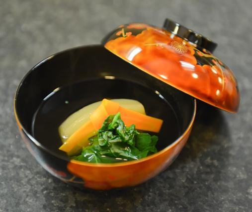 Japonsko: Špenátovo cviklová polievka -  VIDEO - recept