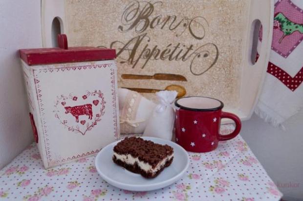 Babičkun strúhaný tvarohový koláč - recept