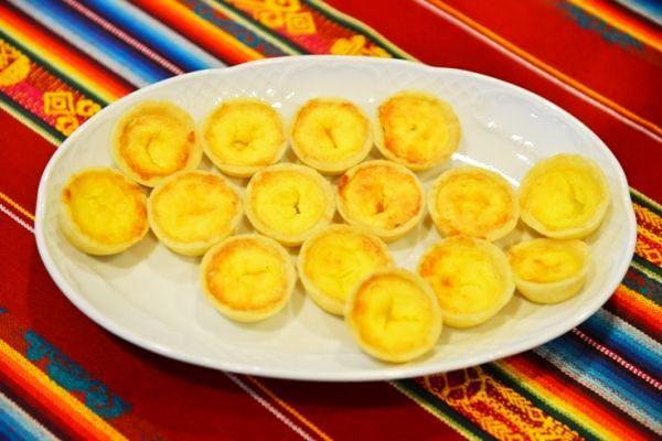 Brazília: Syrové koláčiky - recept