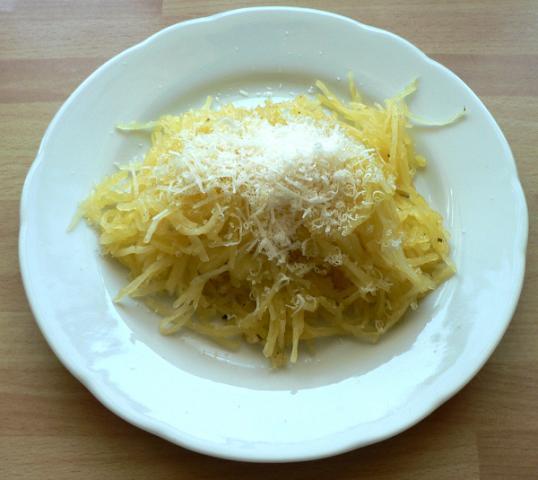 Špagetová tekvica - recept