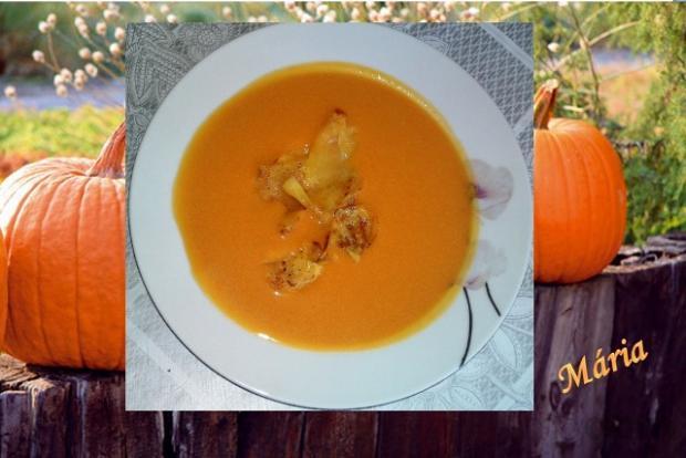 Tekvicovo - mrkvová krémová polievka