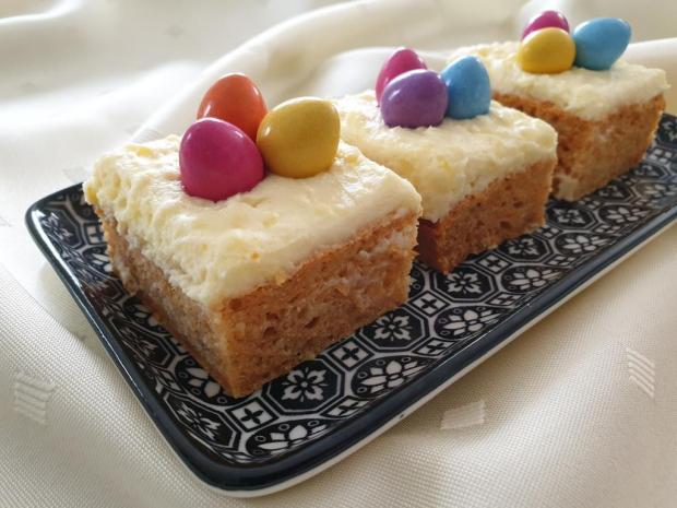 Zdravý mrkvový koláčik pre oblievačov - recept