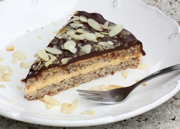 Mandľová torta v štýle Ikea - recept