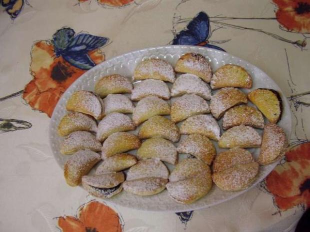 Krehké tvarohové koláče - recept