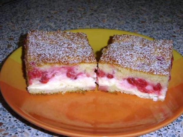 Tvarohový koláč s ovocím | Recept