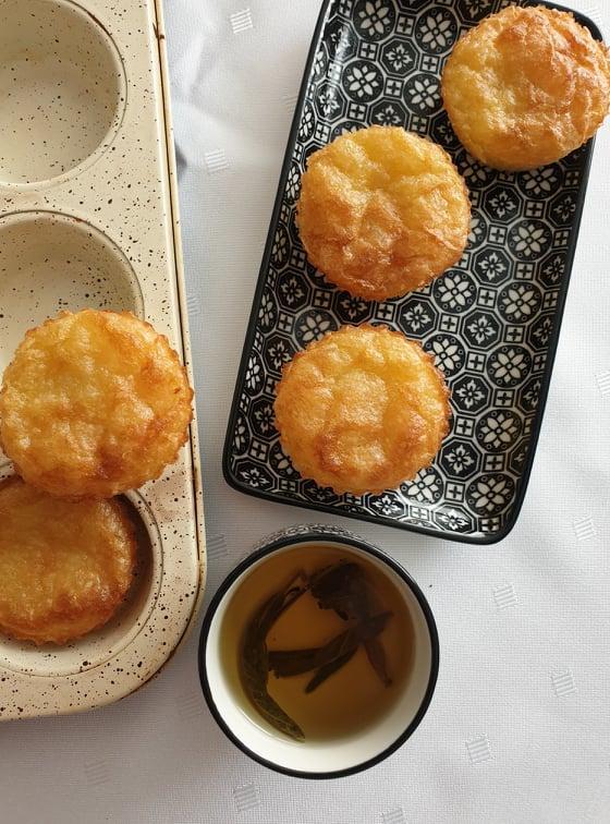 Bibingka - filipínsky ryžovo kokosový koláčik - recept