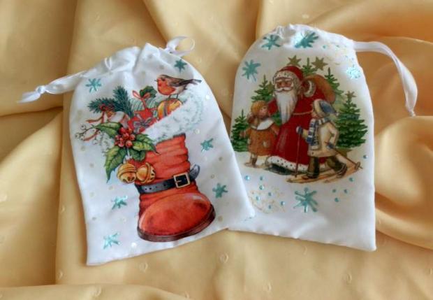 vianočné vrecúška