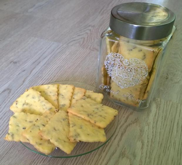 Levanduľové sušienky ♥ - recept