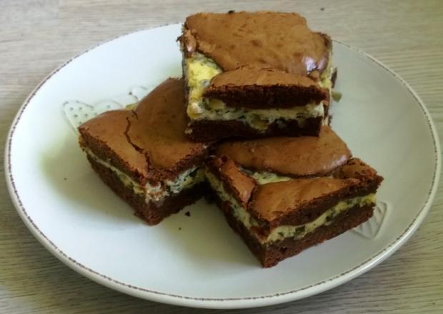 Syrové brownies so semiačkami ♥ - recept