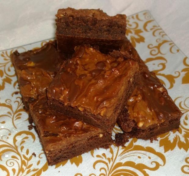 Brownies s arašidovým maslom... - recept