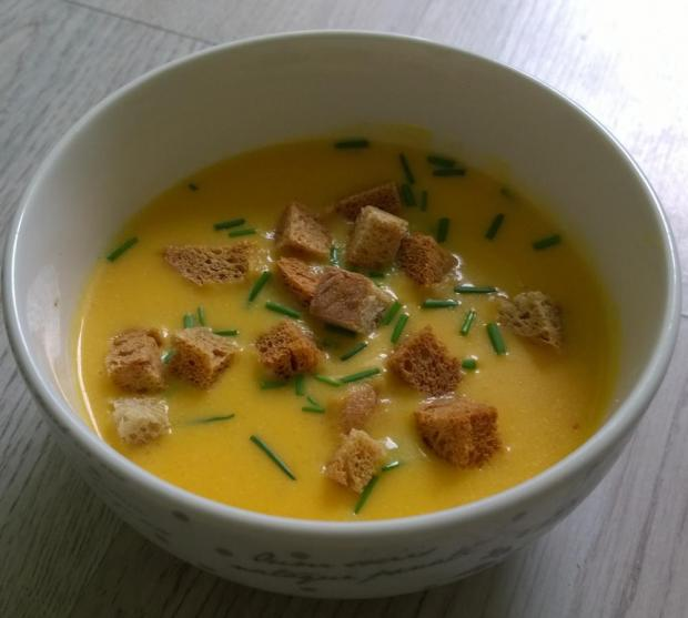 Cibuľovo-mrkvová polievka   recept