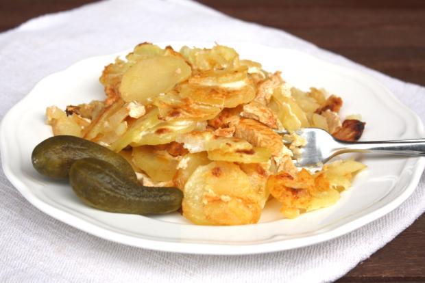 Zapekané zemiaky s mäsom - recept