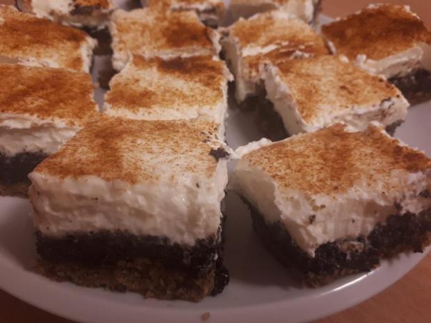 Zasnežený koláčik - recept