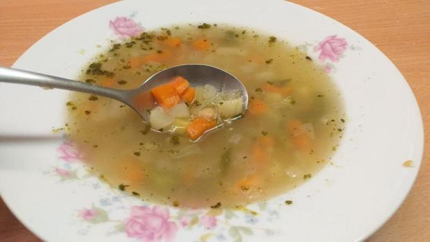 Zeleninová polievka s cícerom - recept